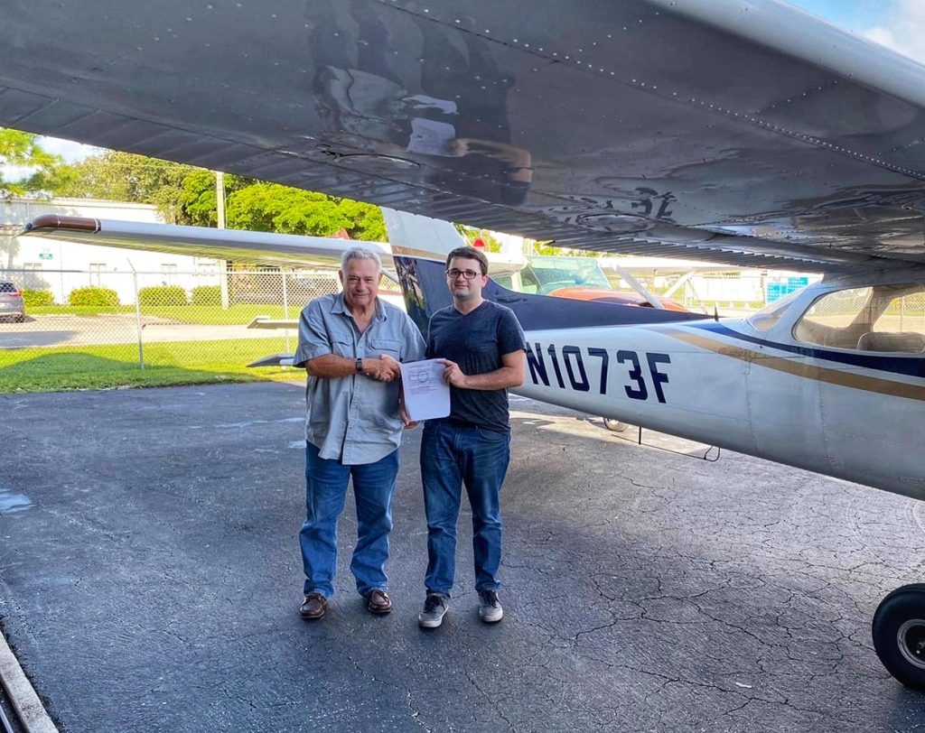 CFI (Certificado de instructor de vuelo) / CFII / MEI
