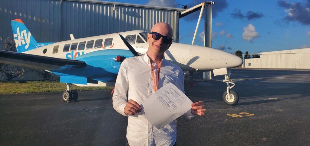 私人飞行员执照